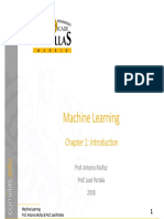 MachineLearning Ch1 Introd v1