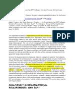 An Examination of an ERP Software Selection Process- An Irish Case Study
