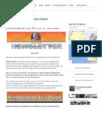 06.01.15 June Neighborhoods First Newsletter - Mike Bonin - Council District 11