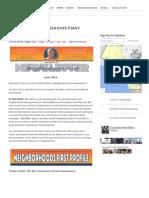 06.30.16 June 2016 Neighborhoods First Newsletter - Mike Bonin - Council District 11