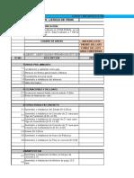 Listado de Items  de un proyecto - Actividad 3