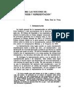 Apuntes Sobre Las Nociones de Mandato Poder y Representacion