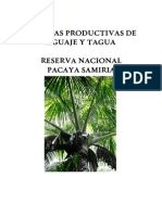 Cadenas Productivas de Aguaje y Tagua 2006
