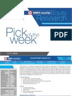 Mannapuram Finance - Pick of the Week - 080118