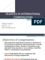 Nuances in International Compensation