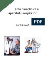 Cursul 1.1 Explorarea Paraclinica a Aparatului Respirator