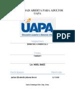 TEMA I - Definición, Concepto y Actos de Comercio