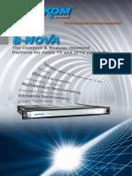B-NOVA DXP 400 Headend Platform