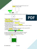 Tips on Oil & Gas Written Exam July 2012