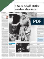 Paradójico Nazi Adolfo Hitler tuvo antepasados africanos