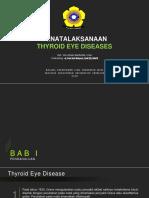 Referat - Thyroid Eye Disease
