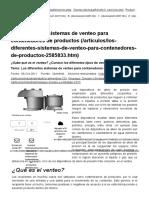 Los Diferentes Sistemas de Venteo Para Contenedores de Productos _ QuimiNet