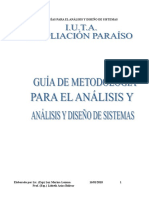Guía Demetodologías de Anàlisis