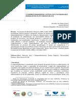 Educação Para o Empreendedorismo, aplicação do IramuteQ. 2016