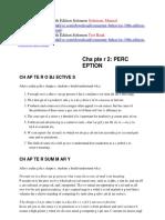 Consumer Behavior 10th Edition Solomon Solutions Manual