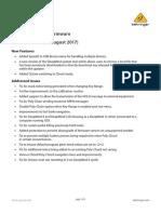 DeepMind Firmware v1.1.1 Release Notes