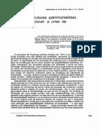 Joaquim Aguiar - Partidos, Estruturas Patrimonialistas e Poder Funcional - A Crise de Legitimidade