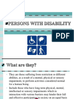 Persons With Disability