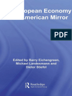 (Routledge Studies in the Modern World Economy) Barry Eichengreen, Dieter Stiefel, Michael Landesmann-The European Economy in an American Mirror-Routledge (2007)