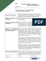 Definición Modelo Futuro - Ppto Gtos - Gastos de Viajes y Viáticos.doc