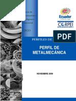 Perfil de Metalmecanica 2009