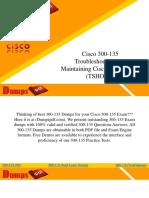 Download Cisco 300-135 Dumps - 300-135 Dumps Questions