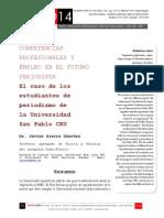Icono14. A8/V2. Competencias profesionales y empleo en el futuro periodista
