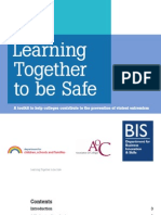Learning Together to Be Safe - A Toolkit to Help Colleges Contribute to the Prevention of Violent Extremism