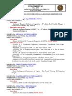 Curso de Instrutor Bibliografia 2007