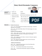 Curriculum Henry Hernandez