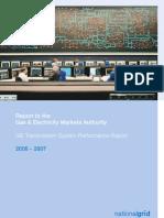 GB Transmission System Performance Report