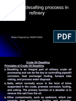 Desalting Process in Refinery