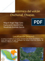 Zona Geotérmica Del Volcán Chichonal, Chiapas