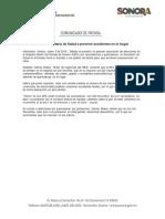 03/01/18 Llama Secretaría de Salud a prevenir accidentes en el hogar -C.011807