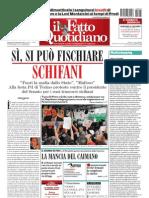 Il Fatto Quotidiano Del 5 Settembre 2010