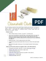 FREE Clamshell Tute