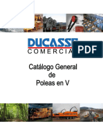 1er Catálogo General Poleas Ducasse