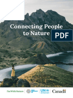 Conecting people to nature