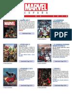 Catálogo MARZO 2018 Marvel