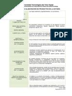 1.- Guía Para Elaborar El Proyecto de Estadía