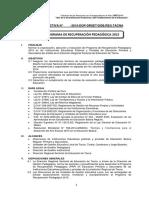 Directiva Recuperación Pedagógica 2015