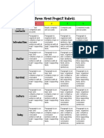 the three fires project rubric   1