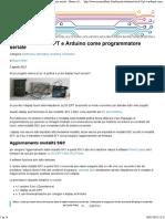 Tutorial_ ULCD-32PT e Arduino Come Programmatore Seriale - Mauro Alfieri Elettronica Domotica Robotica Elettronica, Informatica, Robotica e Domotica