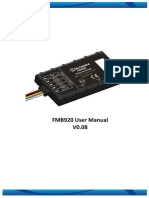 FMB920 User Manual v0.08