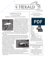 February 2010 Heron Herald Newsletter Rainier Audubon Society