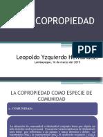 15. La Copropiedad