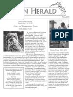 May 2010 Heron Herald Newsletter Rainier Audubon Society