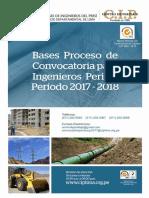 Bases Proceso de Convocatoria Para Ingenieros Peritos 2017-2018