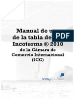 Tabla y Manual Incoterms 2010