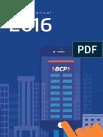 Informe Memoria Bcp